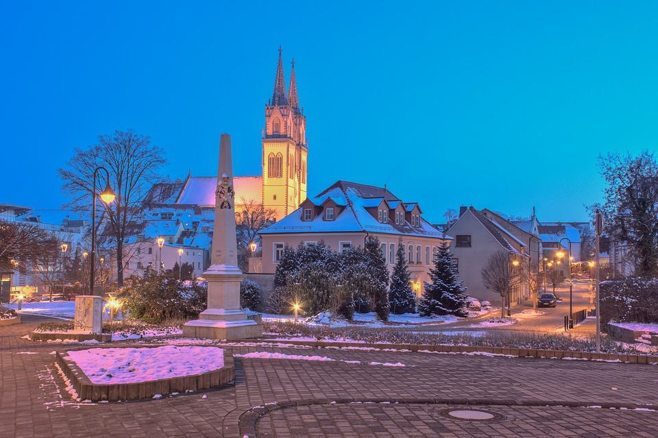 Oschatz, Winter, History, Landscape, Saxony