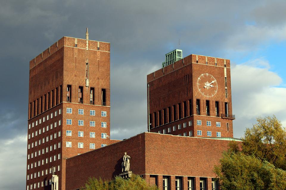 Oslo, Norway, City, Town Hall, Scandinavia, Travel