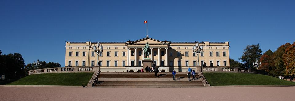 Norway, Oslo, Royal, Castle, Architecture
