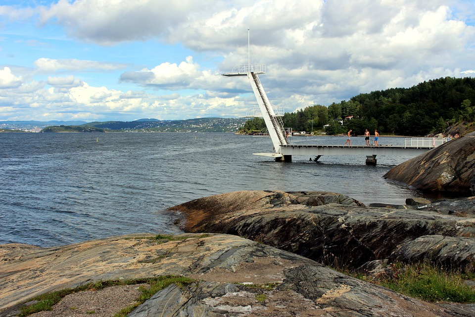 Oslo, Norway, Oslofjord, City, Summer, Scandinavia