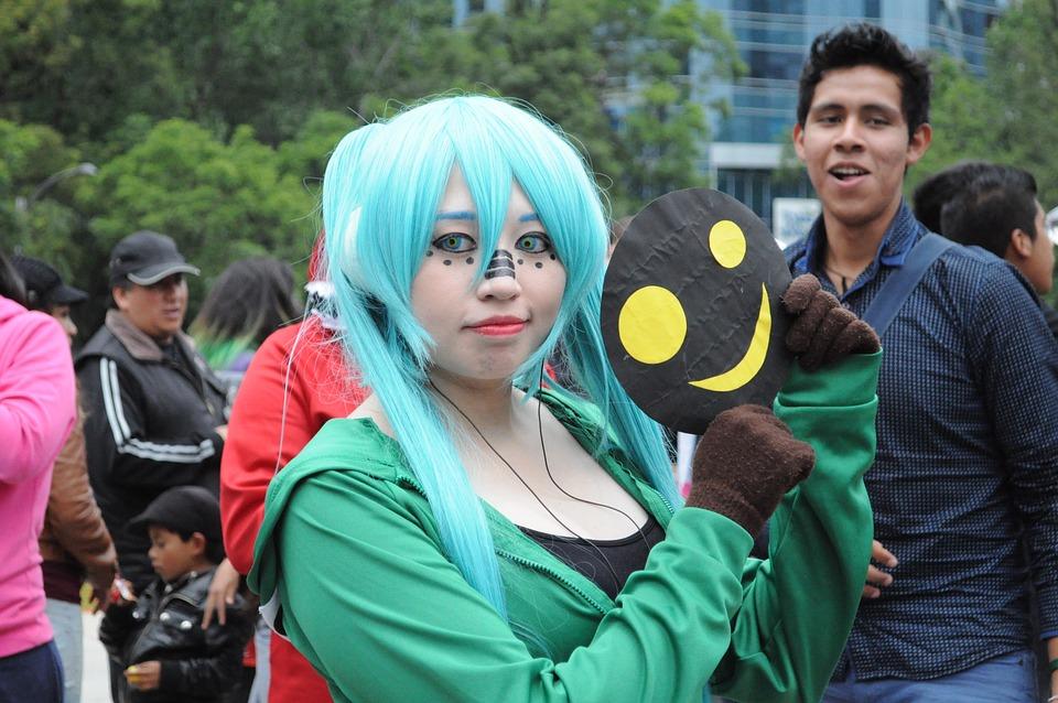 Cosplay, Otaku, Geek, Anime, Sleeve, Cartoons