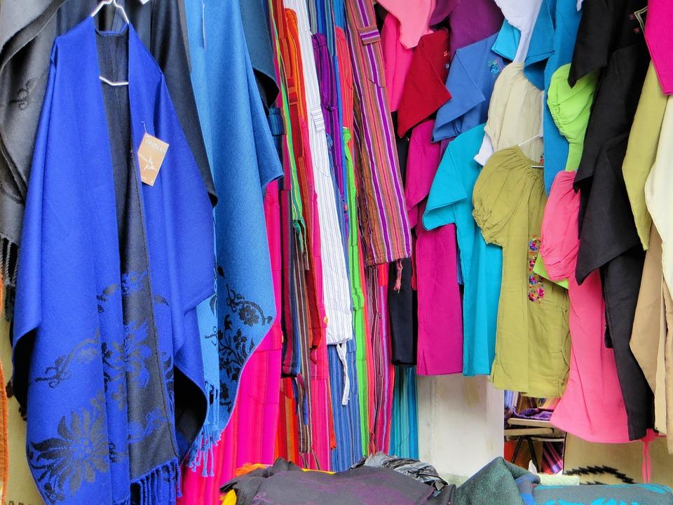 Otavalo, Ecuador, Fabric, Market