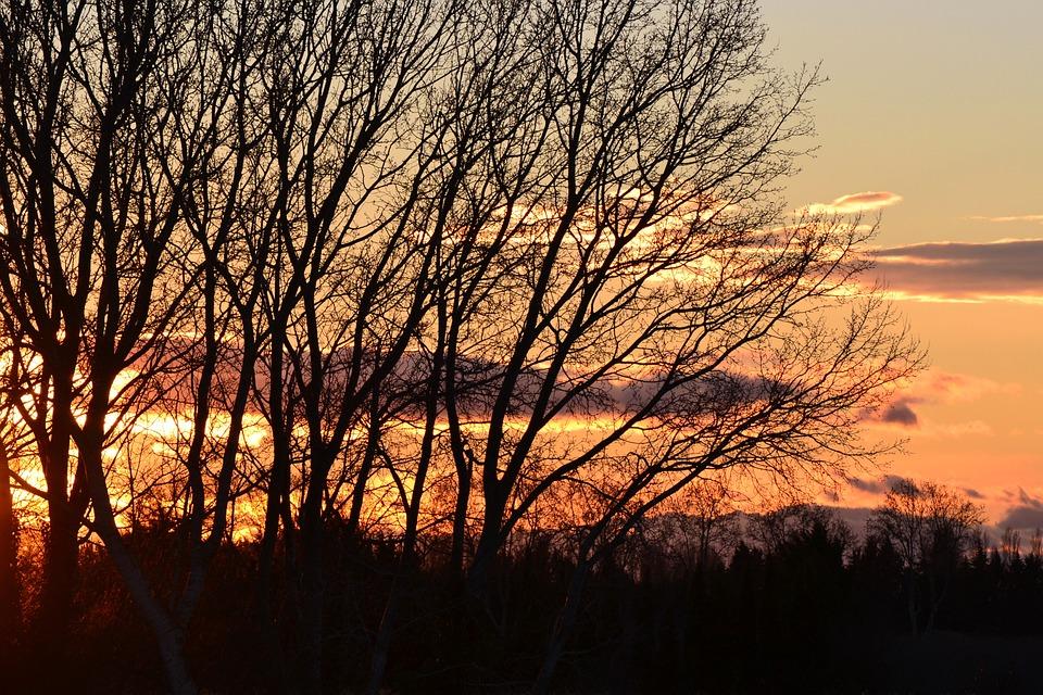 Sunset, Our Beautiful Region, Gard