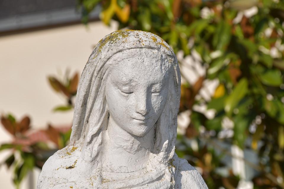 Sculpture, Our Lady, Petit-mars, Loire Atlantique