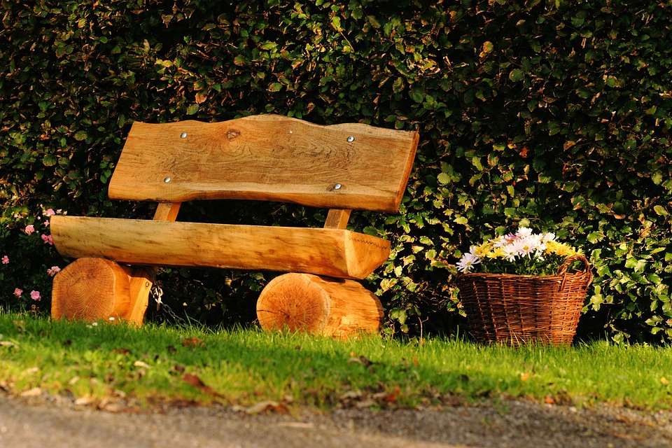 Bench, Wood, Seat, Out, Rest, Click, Autumn, Motif