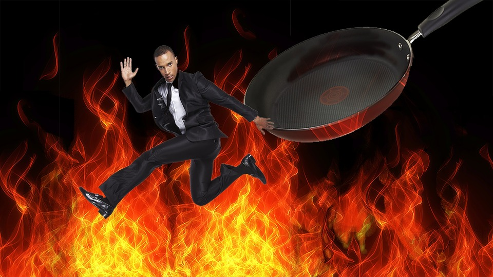 Out Of The Frying Pan, Into The Fire, Danger