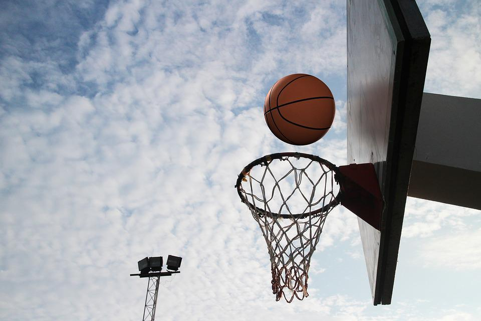 Basketball, Circle, Throw, Sports, Outdoor, Basket