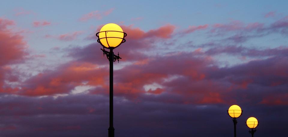 Lamp, Outdoor Lighting, Twilight, Lantern, Light