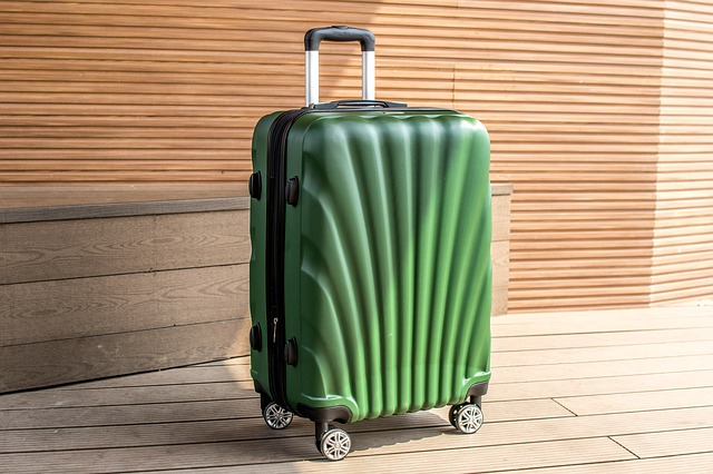 Luggage On Wheels, Case, Outdoor