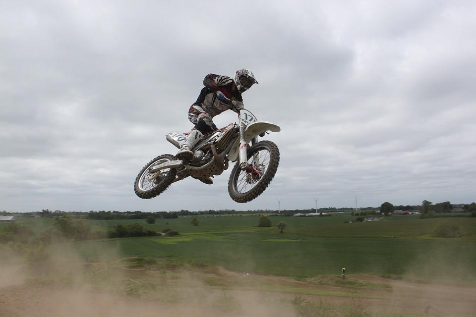 Moto Cross, Motorbike, Sports, Jump, Power, Outdoor