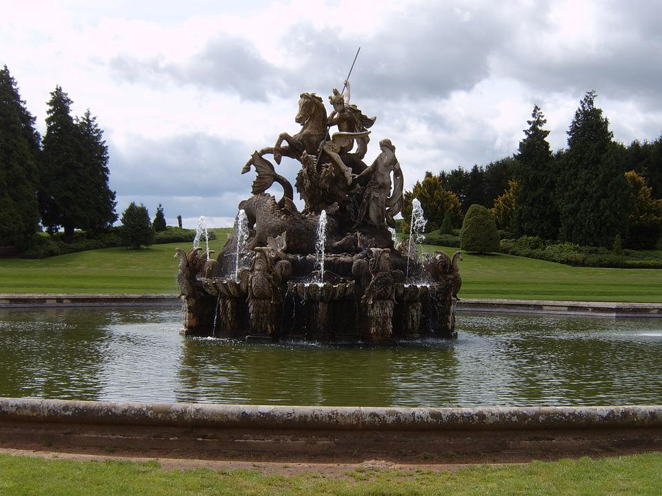 Fontaine, Outdoor, Water, Park, Outdoors, Memorial