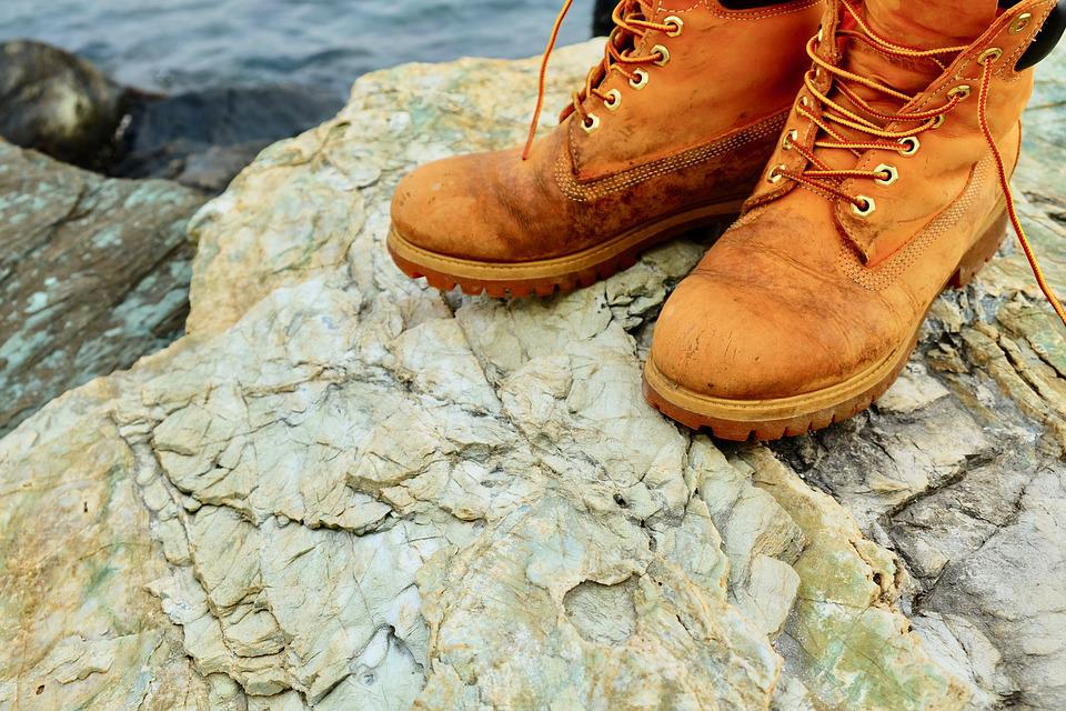 Shoes, Outdoor, Stones, River Side, Walking