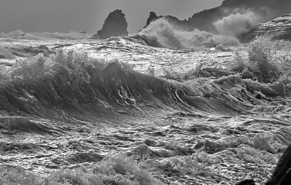Landscape, Nature, Sea, Outdoor, Storm, Shot Of Sea