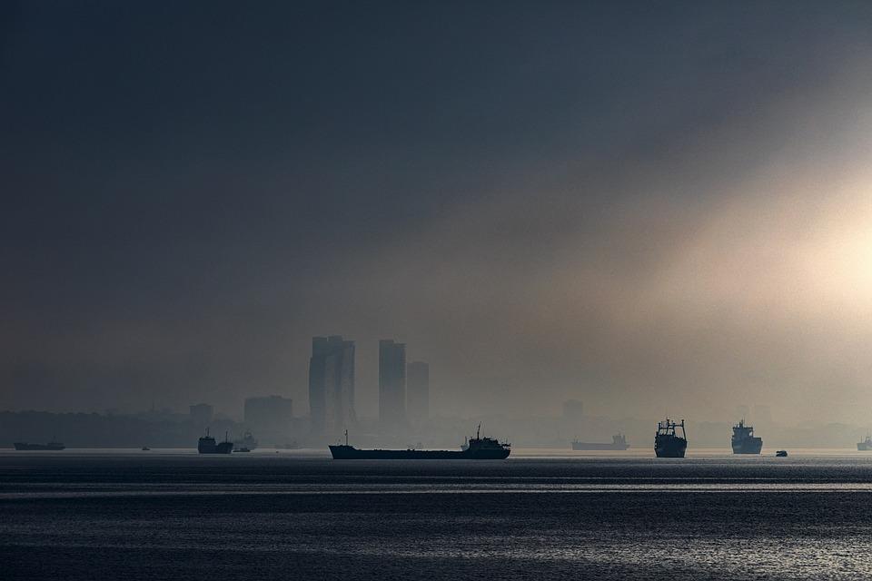 Sea, Marmara, Mist, Morning, Outdoor, Day, Summer, Hazy