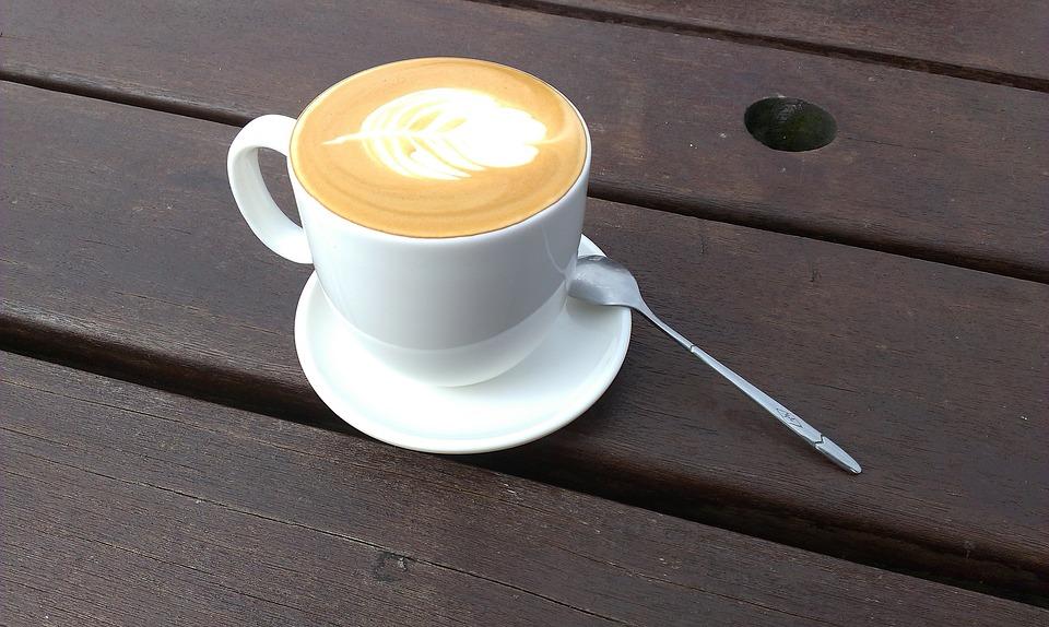 Coffee, Outdoor, Casual, Wood Table, Sunshine