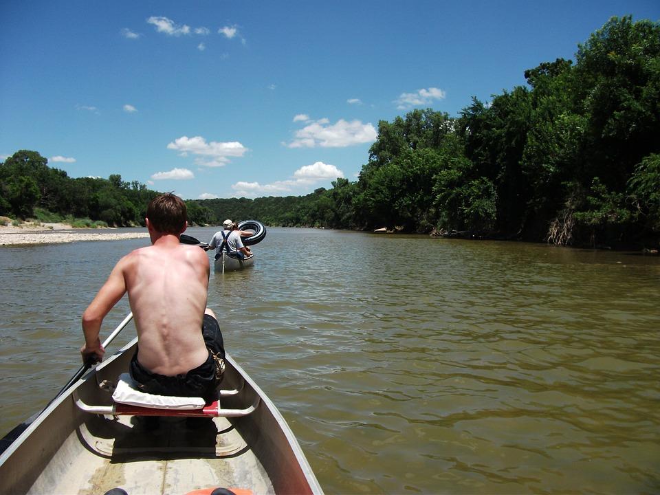 Canoeing, Brazos River, Texas, Outdoors Activities