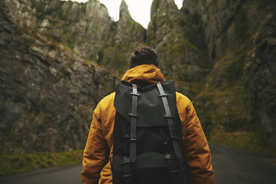 Man, Adventure, Backpack, Adult, Male, Outdoors, Person
