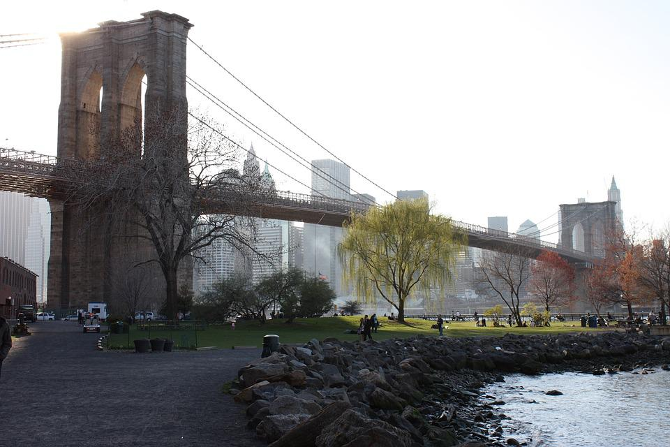Architecture, Outdoors, Travel, City, Water, Brooklyn