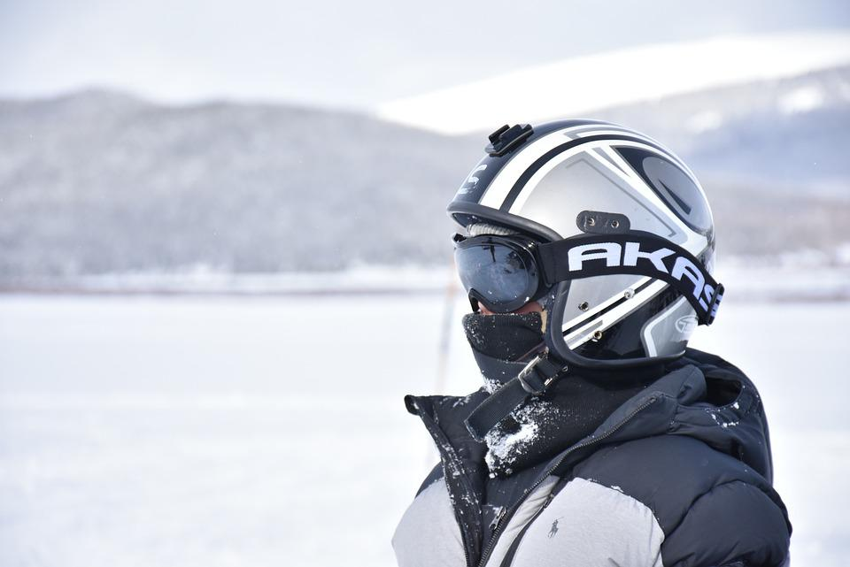 Snow, Outdoors, White, Helmet, Gear, Cold, Winter