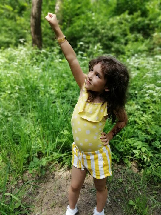 Child, Nature, Cute, Supergirl, Happiness, Outdoors