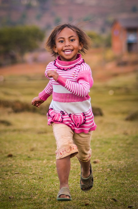 Child, Outdoors, Nature, Fun, Cute, Little, Joy