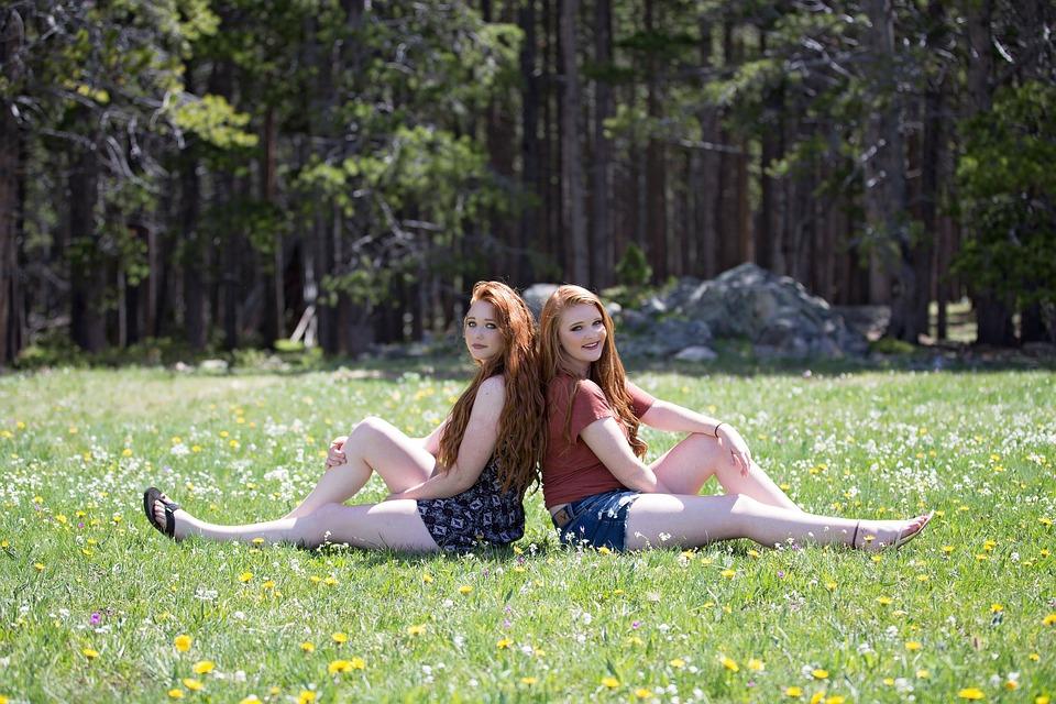 Nature, Grass, Summer, Girl, Beautiful, Outdoors, Young