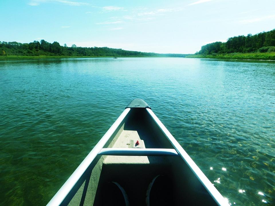Canoe, Water, Landscape, Adventure, River, Outdoors