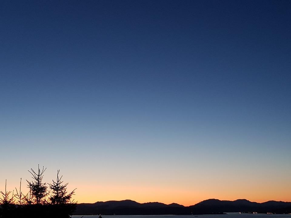 Nature, Sky, Sunset, Outdoors, Landscape, Skyline
