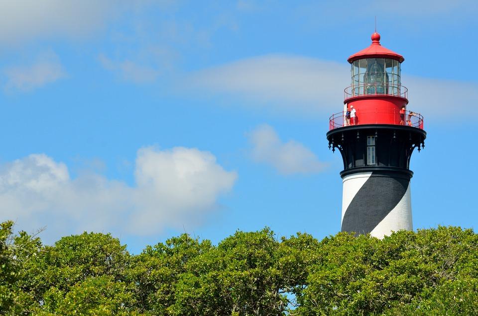 Nature, Sky, Lighthouse, Outdoors, Tree, Landscape