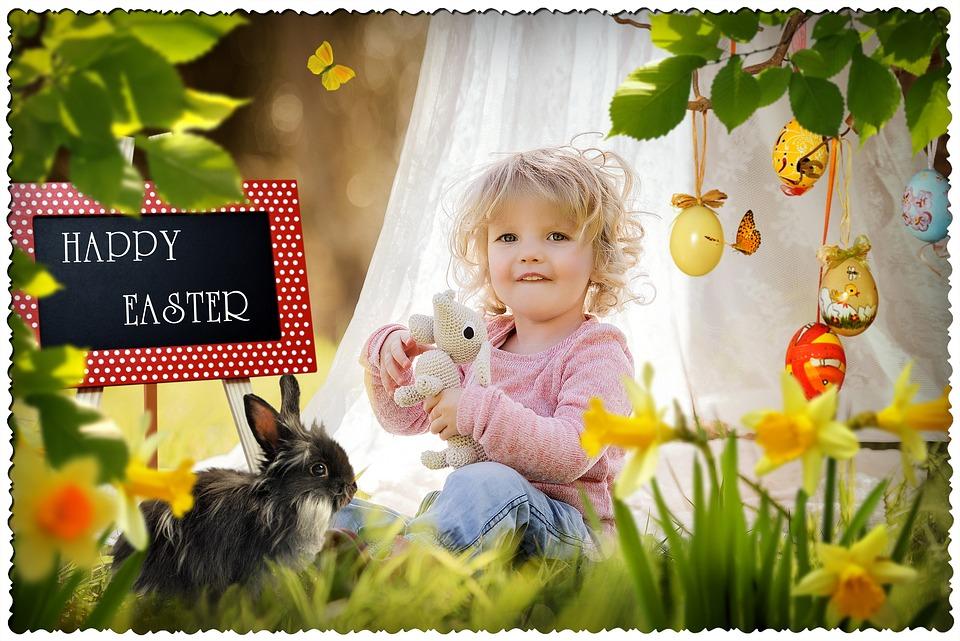 Flower, Child, Fun, Cute, Nature, Little, Outdoors