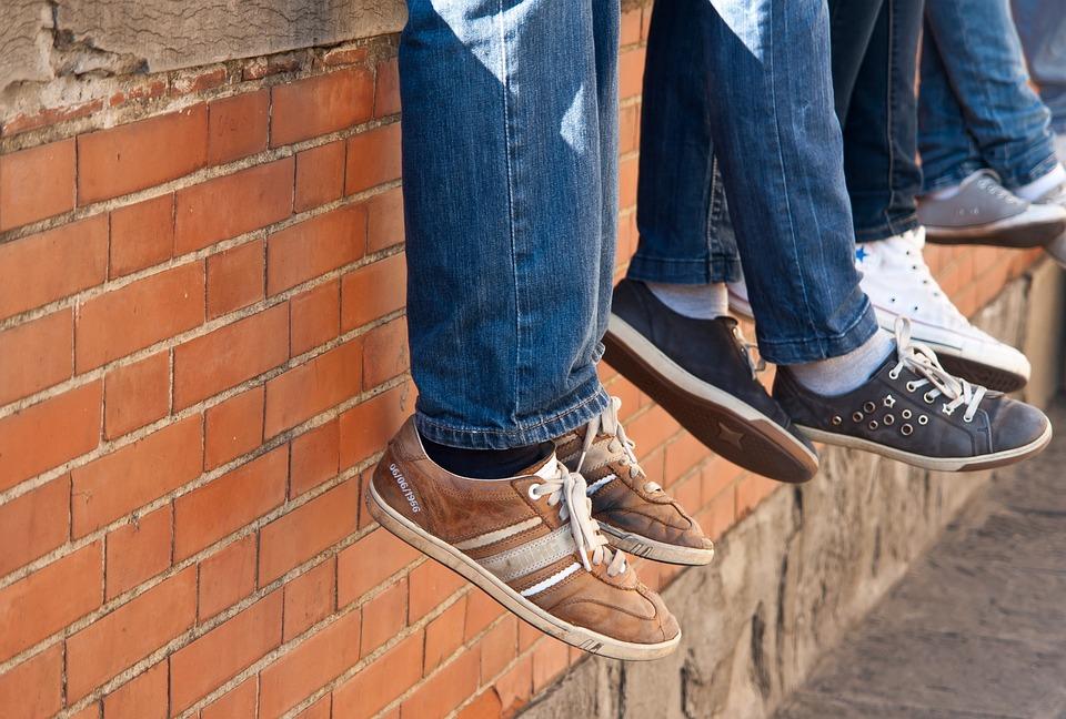 Legs, Outdoors, Shoes, Man, People, Shoe, Wear, Street