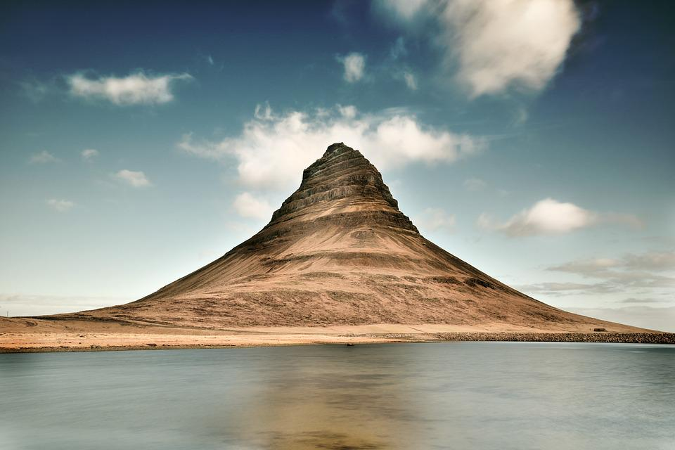 Iceland, Mountain, Landscape, Nature, Outdoors, Scenic