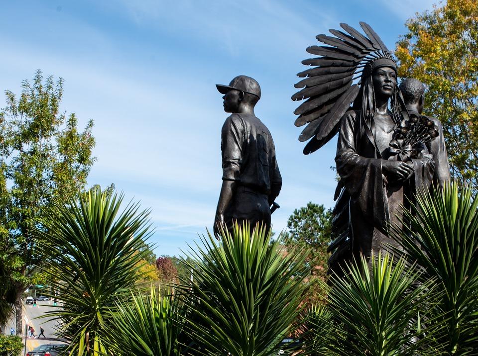 Outdoors, Tree, Travel, Nature, Bronze Sculpture