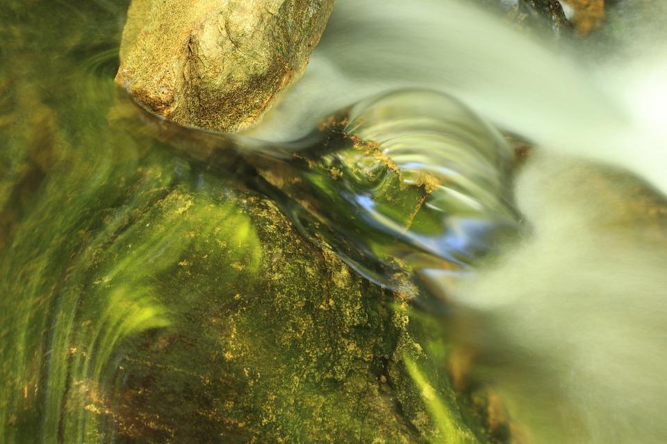 Water, River, Nature, Lake, Wet, Outdoors, Waterfall