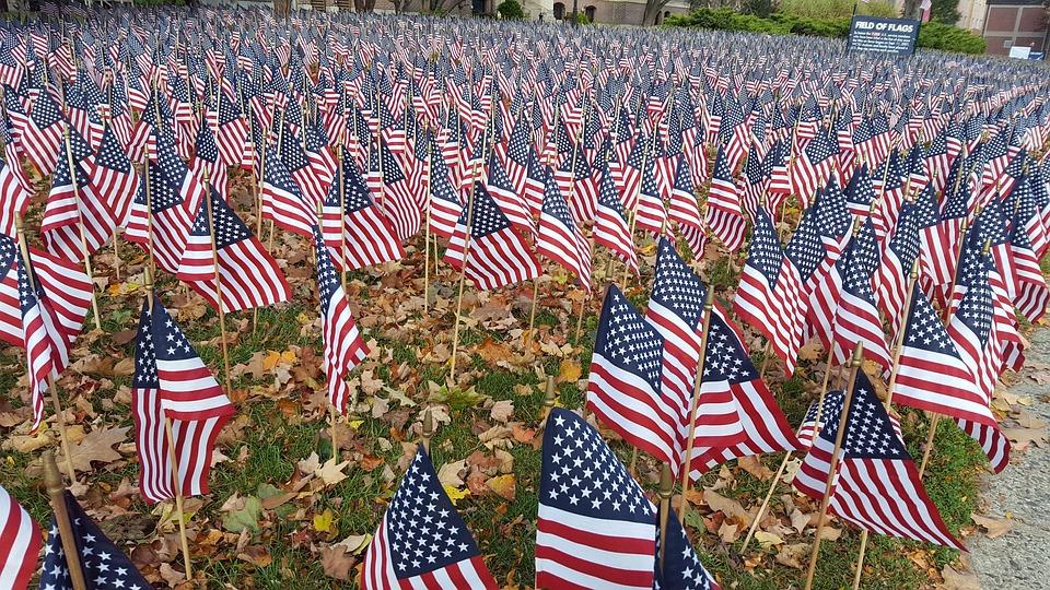 Patriotism, Stripe, Flag, Outdoors, Decorative Flag