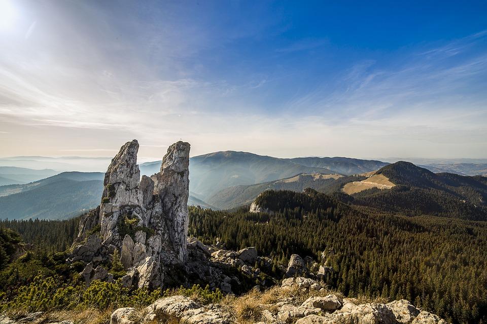 Pietrele Doamnei, Landscape, Hills, Outdoors, Rocks