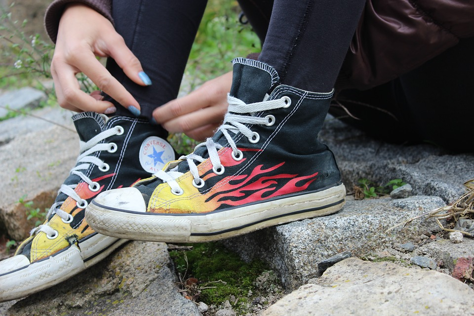 Free photo Outdoors Shoe Sun Sneakers Conversky Converse - Max Pixel 6b8b4d46f