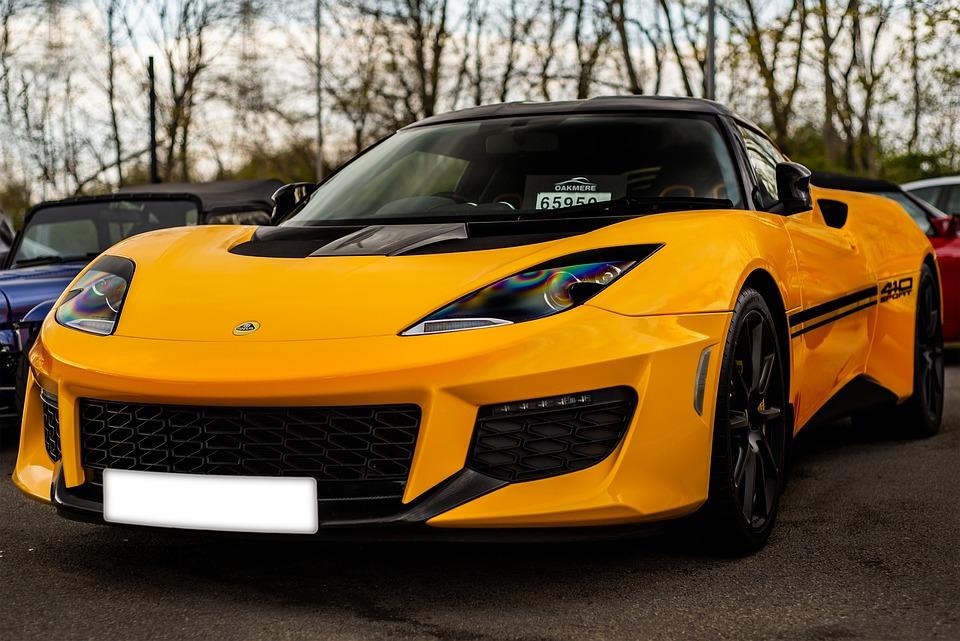 Lotus Evora 410, Car, Sports Car, Outdoors, Showroom
