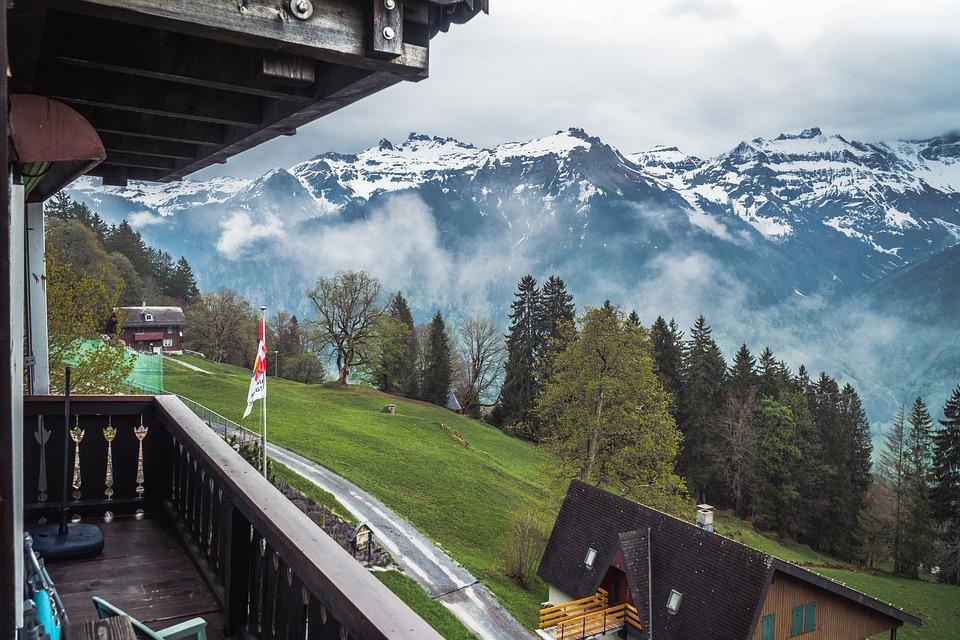 Mountain, Outdoors, Travel, Snow, Panoramic
