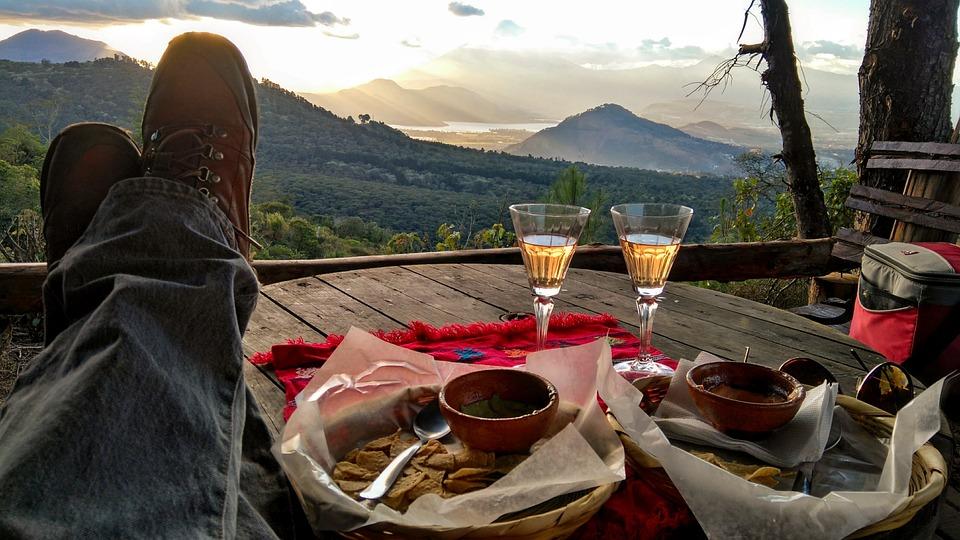 Valley, Relaxing, Dinner, Outdoors, Celebration