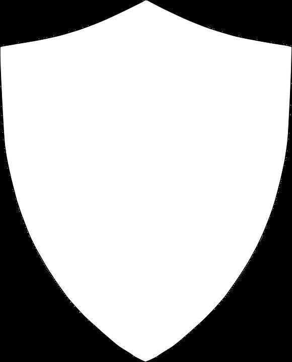 Shield, Armor, Coat, Medieval, Outline
