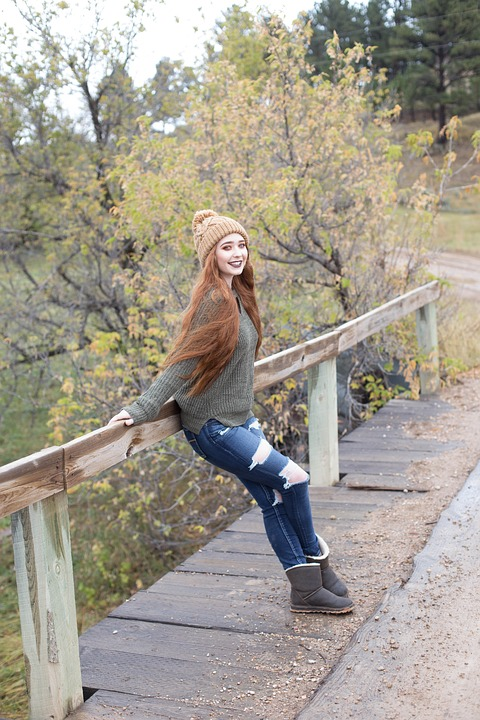 Red Head, Ginger, Long Hair, Summer, Outdoors, Outside