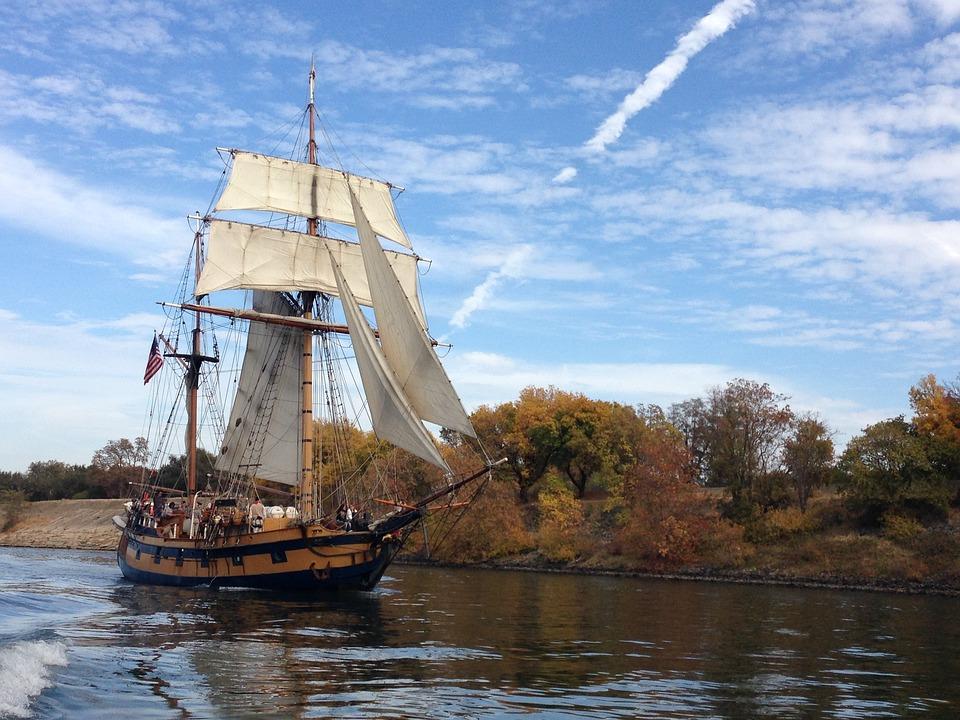 Ship, Water, Boat, Sailboat, Sailing, Nautical, Outside