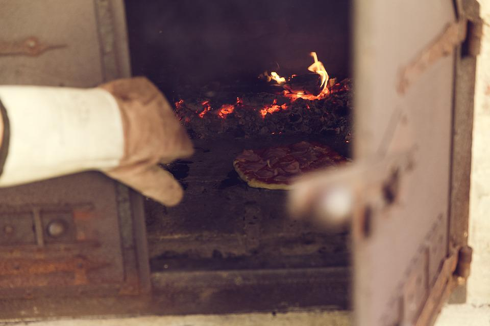 Pizza, Oven, Bake, Wood Burning Stove, Pizza Maker