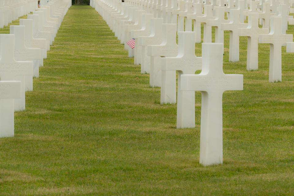 Omaha Beach, Normandy, Overlord, Remembrance, Cemetery