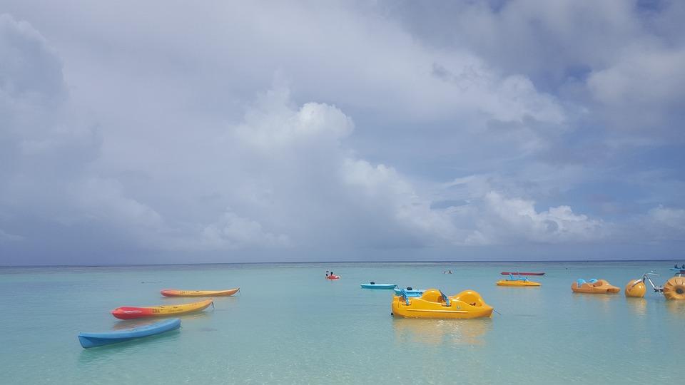 Guam, Tumon Beach, Overseas Recreation, Vacation