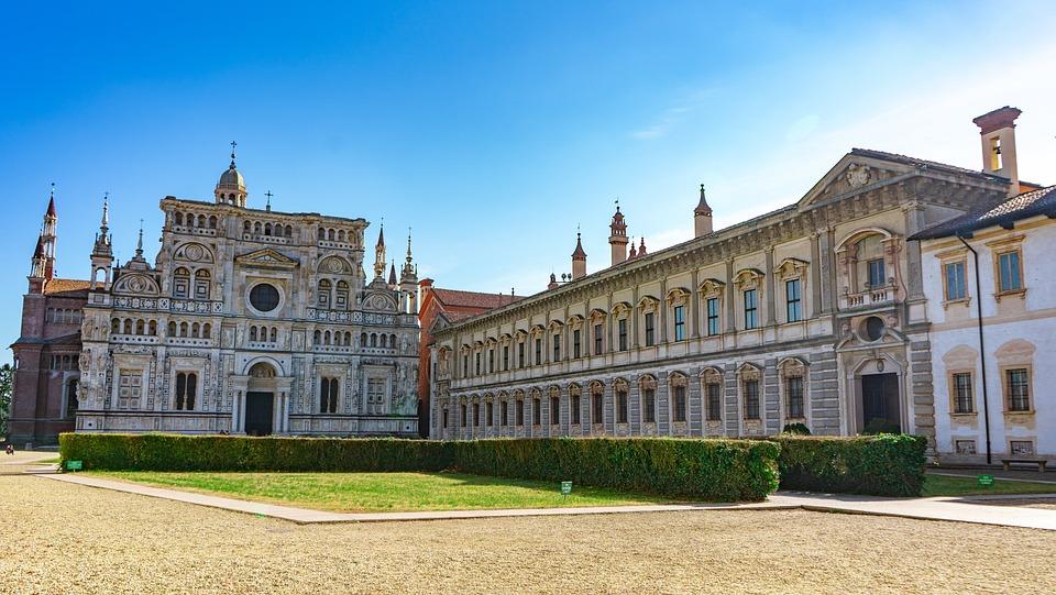 Certosa Di Pavia, Chartreuse, Pavia, Overview