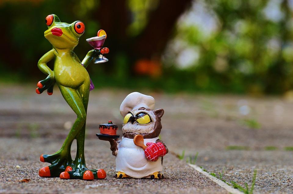 Frog, Owl, Bake, Love, I Beg Your Pardon, Cake Apology