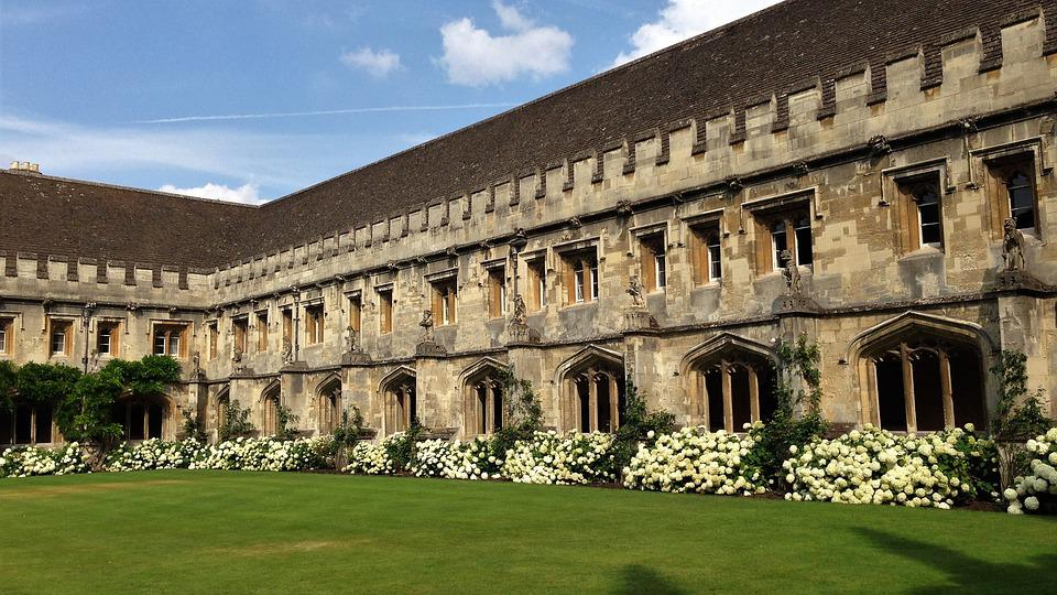 Magdalen, College, Oxford, University, Oxfordshire