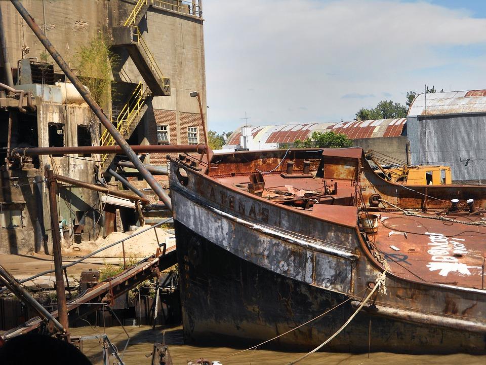 Boat, Abandonment, Old, Oxide, Abandoned, Tiger, Broken